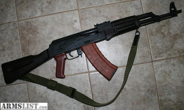 Delightful Brand New Condition Romanian SAR 2 AK 74 Rifle In 5.45x39mm Caliber. Finish  Is Rough, As Is Typical With SARs, But The Rifle Is New And Unfired.