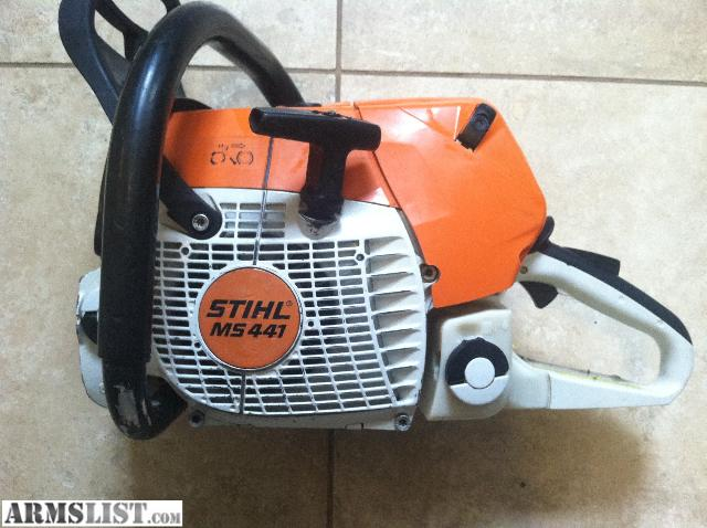 armslist for sale stihl ms441 chainsaw. Black Bedroom Furniture Sets. Home Design Ideas