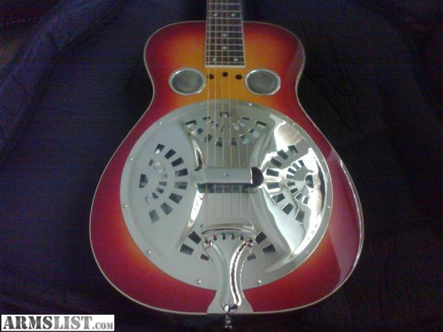 armslist for sale resonator regal dobro squareneck guitar. Black Bedroom Furniture Sets. Home Design Ideas