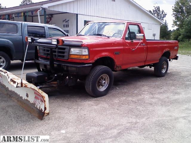 Ford 4000 Plow : Armslist for sale f plow truck