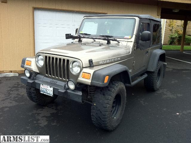 armslist for sale 2003 jeep wrangler rubicon. Black Bedroom Furniture Sets. Home Design Ideas