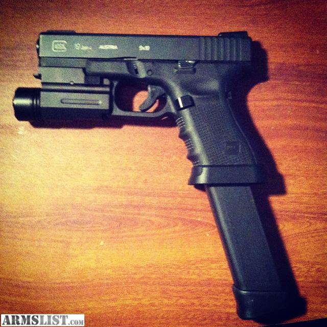 ARMSLIST - For Sale/Trade: Glock 19 gen4  ARMSLIST - For ...