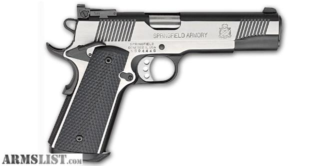 ARMSLIST - For Sale: Springfield 1911 A1