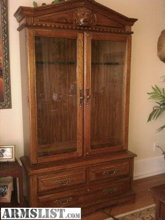 armslist - for sale: custom gun cabinet