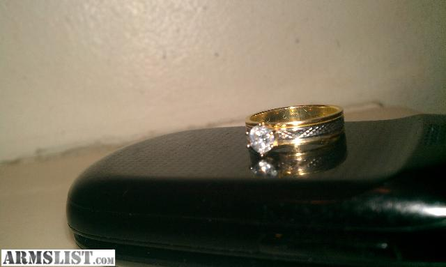 ARMSLIST For Trade 1kt diamond ring in 14k gold for Taurus Judge or nice n