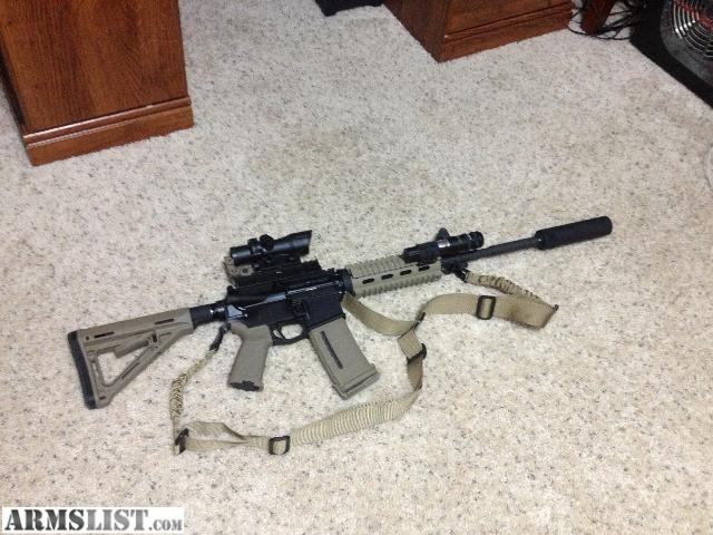 Sub-Silent Suppressors | #1308. John. CMMG WASP AR15 .22cal LR ...