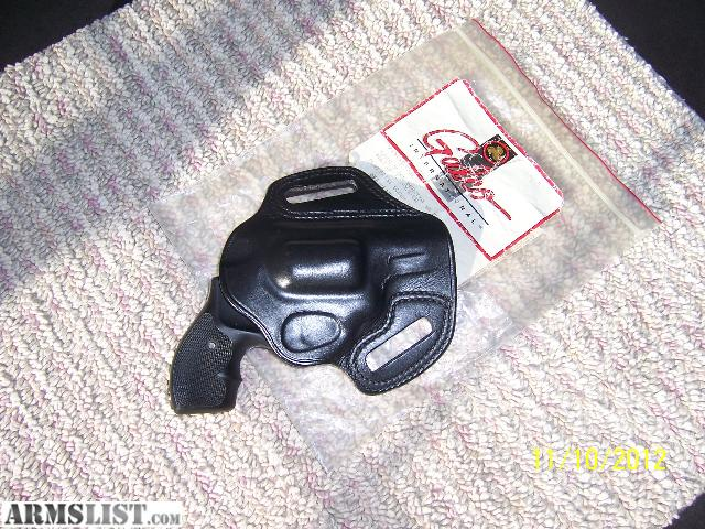 ARMSLIST - For Sale: Galco Fletch holster for SW J frame, RH, black, OTW