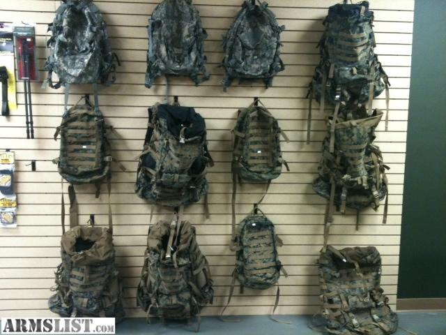 ARMSLIST - For Sale: Surplus Backpacks.....great bug out bags ...