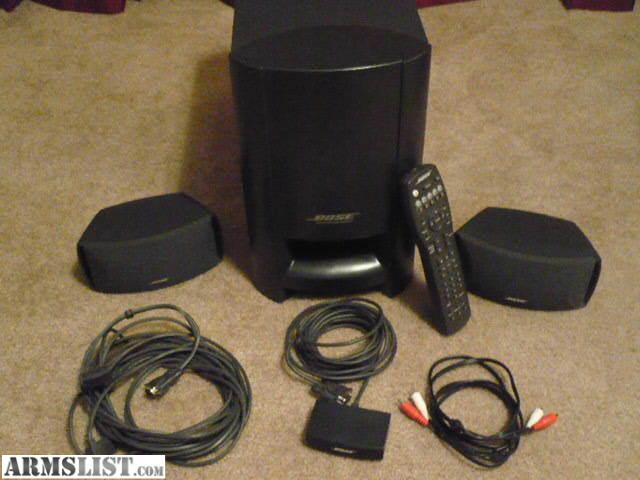 Armslist For Trade Bose Cinemate For Revolver Or 9mm