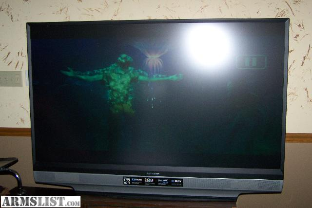 ARMSLIST - For Trade: EXTREMELY NICE 62 inch MITSUBISHI TV / Trade