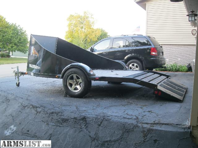 Armslist for sale trade motorcycle trailer for 3 bikes for Motor trailers for sale