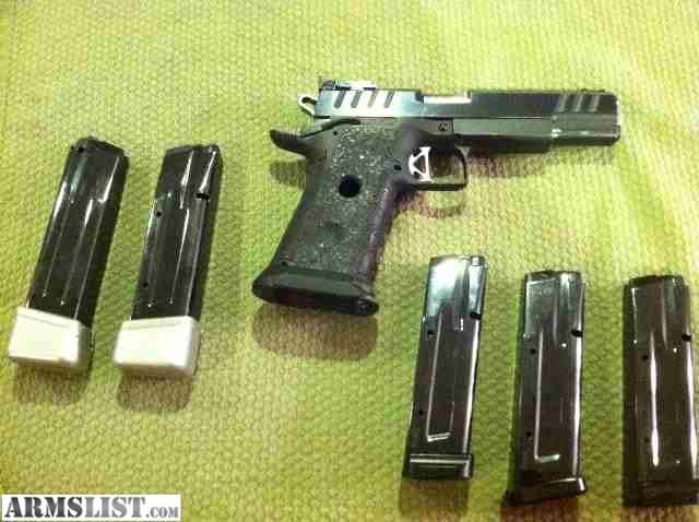 ARMSLIST - For Sale: CUSTOM CASPIAN DOUBLE STACK 1911 9mm