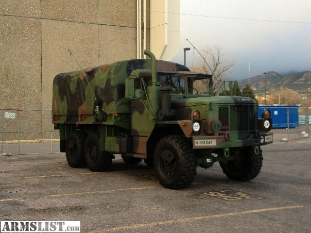 armslist for sale 1997 m35a3 army 6x6 truck. Black Bedroom Furniture Sets. Home Design Ideas