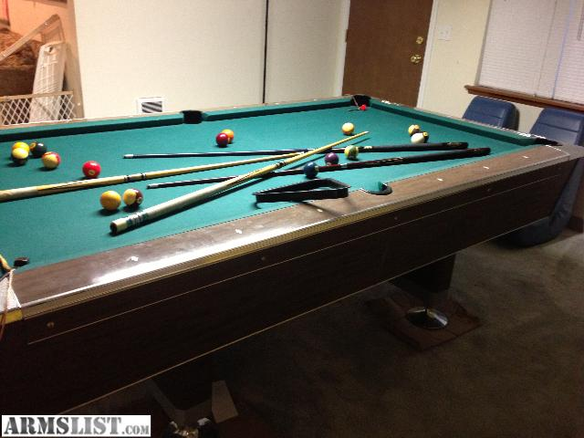 Armslist for sale trade wtt wts slate pool table for 1 inch slate pool table