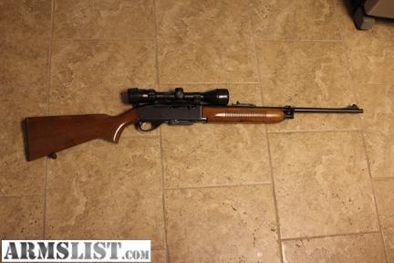 ARMSLIST - For Sale: Remington 6MM Semi-Automatic Rifle w ...