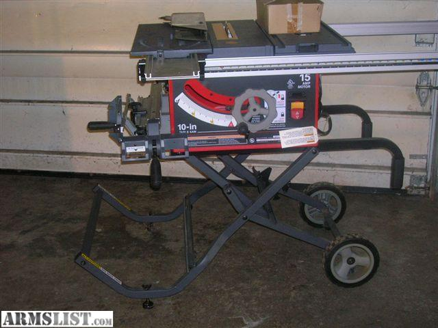 Armslist for sale trade craftsman portable 10 inch for 10 inch table saw craftsman