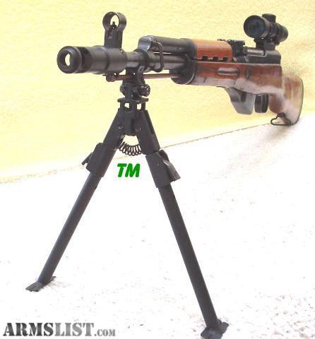 Folding bipod for sks carbine or rifle sks bipod specifications bipod