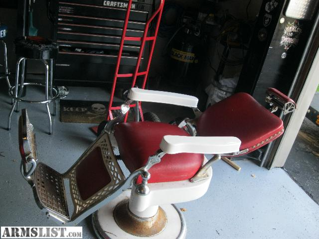 For Sale/Trade: Old School Barber Chair