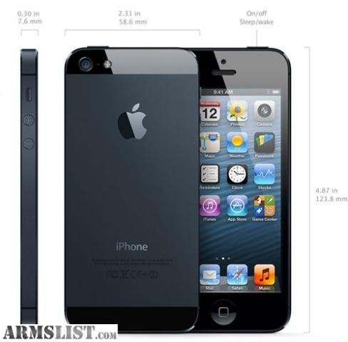 verizon iphone 5 for sale armslist for trade iphone 5 verizon black 16gb trade 18149