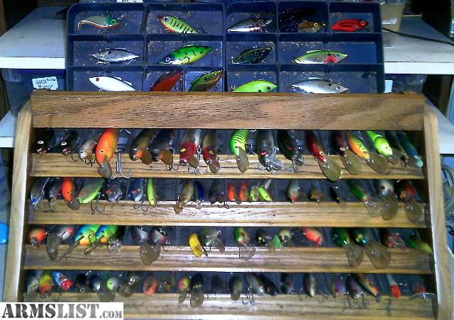 armslist - for sale: loookk!!!name brand fishing lures !cheap!!, Fishing Bait