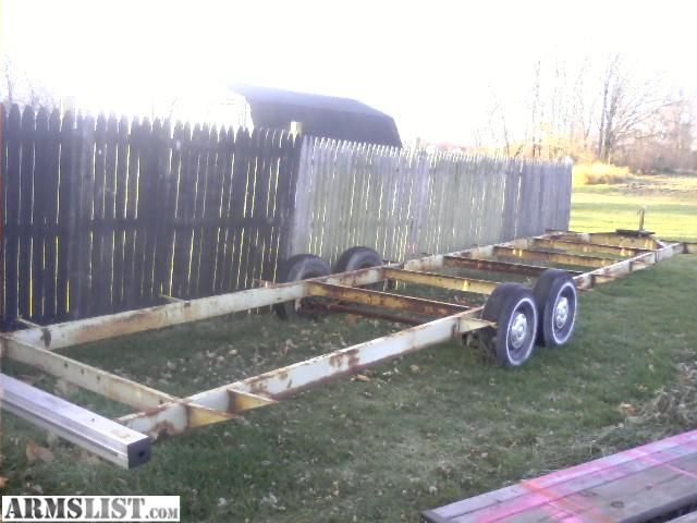 for saletrade 30 ft camper trailer frame