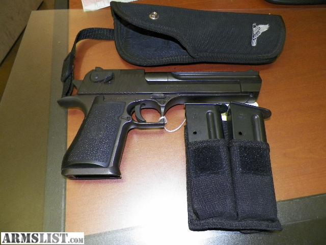 armslist for sale desert eagle 44 magnum research semi auto pistol 850. Black Bedroom Furniture Sets. Home Design Ideas
