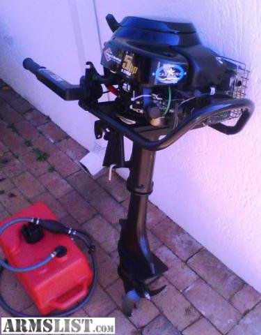 Armslist for sale 5hp briggs and stratton 4 cycle for Briggs and stratton outboard motors for sale