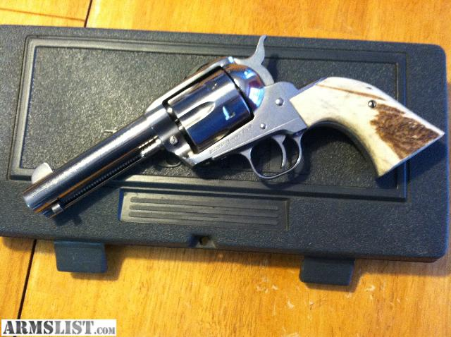 Stag Grips For Ruger Vaquero: BUFFALO HORN / STAG GRIPS FOR