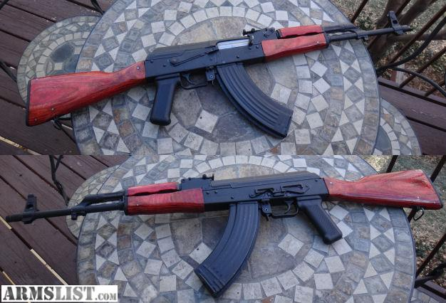 I replaced my Romanian WAR 10 63  AK47  furniture with the Black Laminate  Wood Set  This set I did the sanding  wood dye and polyurethane coating  myself. ARMSLIST   For Sale  Ak47 Russian Red WASR 10 63 Furniture