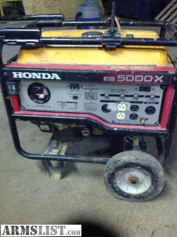 armslist for sale trade honda eb 5000 watt generator. Black Bedroom Furniture Sets. Home Design Ideas