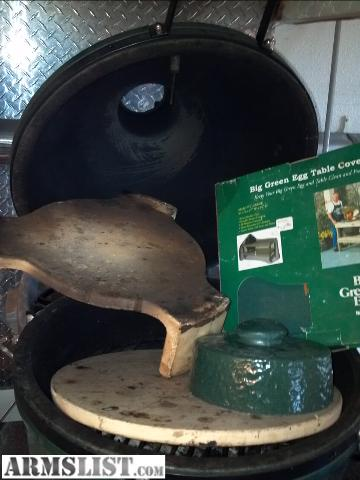 ARMSLIST - For Sale: Big Green Egg grill/smoker