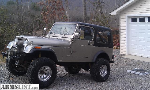 armslist for sale 1982 jeep cj7. Black Bedroom Furniture Sets. Home Design Ideas