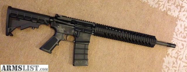 ARMSLIST - For Sale: SURPLUS ARMS AR-15 CARBINE FLAT TOP WITH QUAD