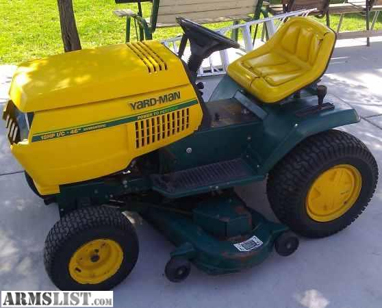 Man Riding Lawn Mower : Armslist for sale trade yard man riding lawn mower tractor