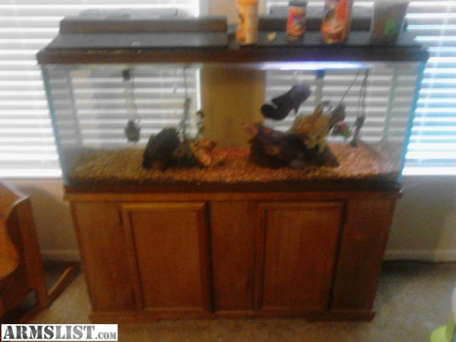 Armslist For Sale Trade 55 Gallon Aquarium And Stand