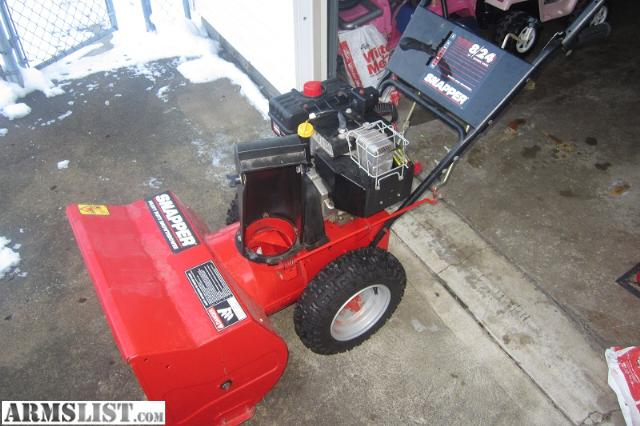 """Used Tires Dayton Ohio >> ARMSLIST - For Sale/Trade: PENDING SALE - Snapper 8HP 24"""" Snowblower"""