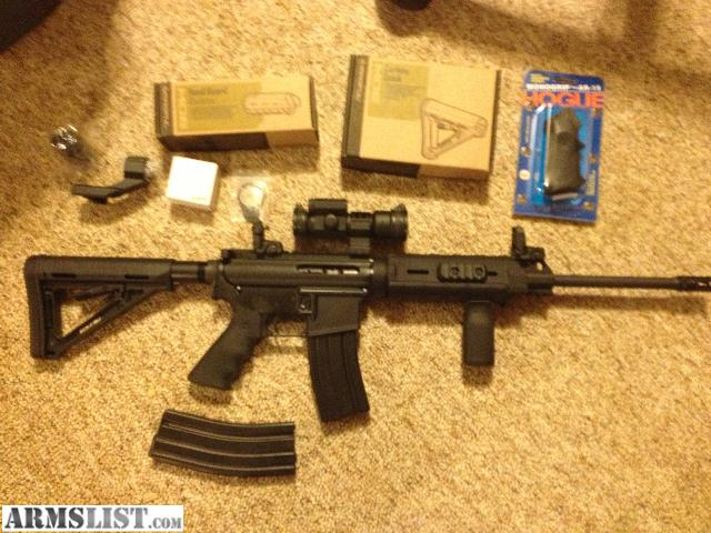 Armslist For Sale Dpms Sportical Ar15 W Upgrades Nice