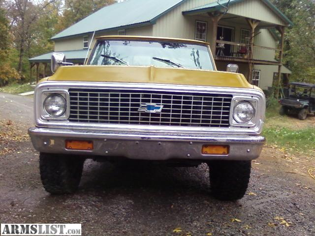 armslist for sale 1972 chevy factory 4x4. Black Bedroom Furniture Sets. Home Design Ideas