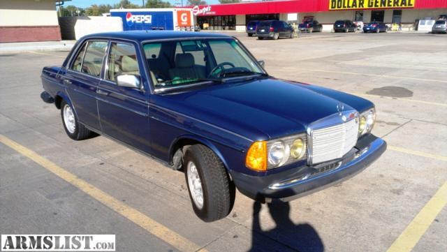 Armslist for sale trade 1983 mercedes benz for Mercedes benz fayetteville ar