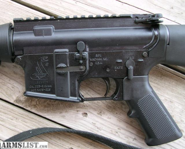 For Sale: AR 15 Bushmaster XM15 223/5.56 Nato