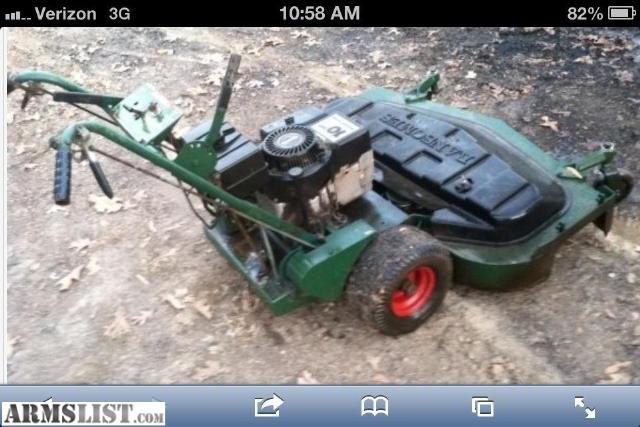Ransome 48 walkbehind mower Manual