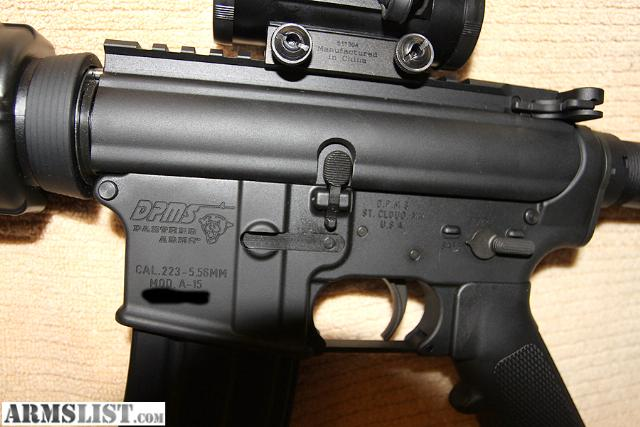 simmons red dot scope. it has never been shot and i\u0027ll throw in a simmons 1x30 3 moa dot scope. also comes with 2 30rd mags. red scope