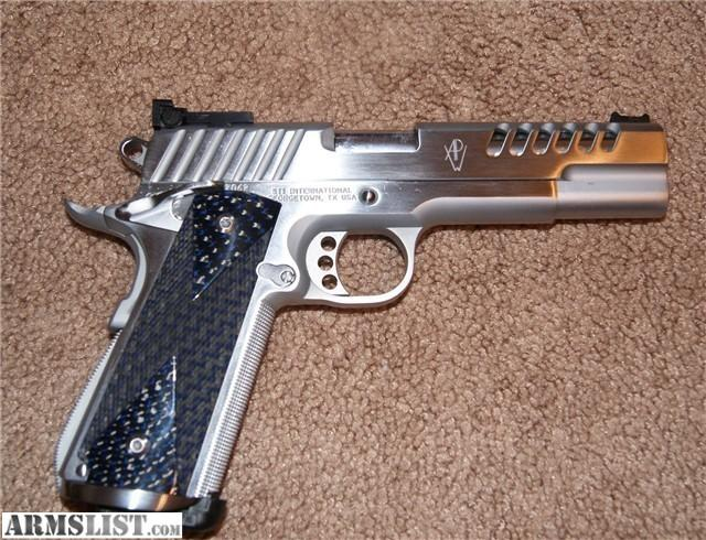 For Sale: CUSTOM STI 1911, 45acp With Lots Of