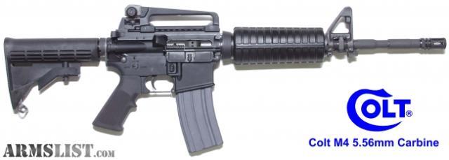 armslist for sale colt m4 carbine new in the box 2450 00 rh armslist com walther colt m4 manual colt m4 armorer manual