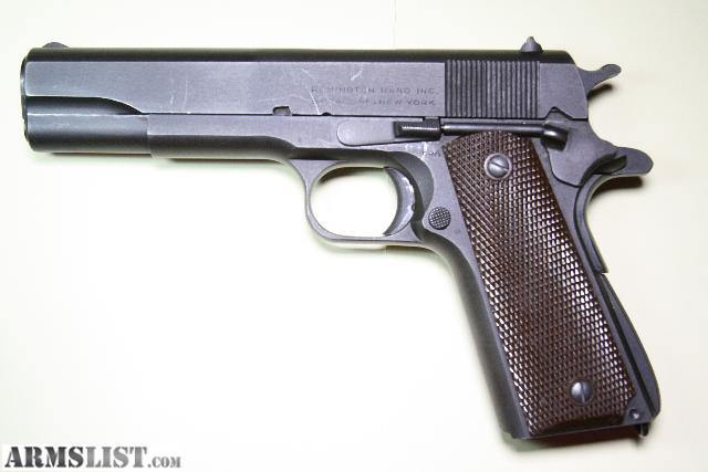 ARMSLIST - Want To Buy: WW1 WW2 M1911 M1911A1 1911 COLT 45 ... M1911 Pistol Ww1