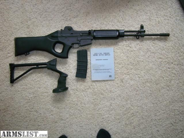 ARMSLIST - For Sale: Daewoo DR200 .223 Rifle - Imported by Kimber of