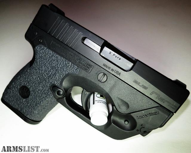 Armslist For Sale Beretta Nano 9mm W Lasermax Laser