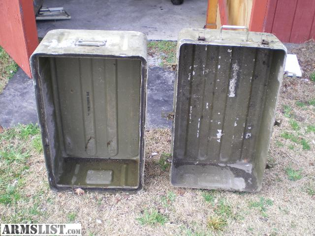 ARMSLIST For SaleTrade Large army storage container