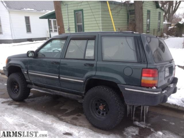 ARMSLIST - For Sale/Trade: Lifted Jeep Grand Cherokee for guns!