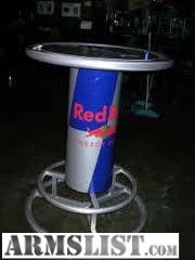 Armslist for trade red bull table extremely for ar mags i have an extremely rare red bull patio man cave table for trade its in pretty good condition can be seen in clubs bars and restaurants watchthetrailerfo